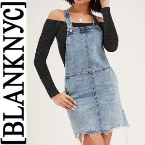 9df167ed0ebe Blank NYC Medium Wash Denim Skirt Overalls